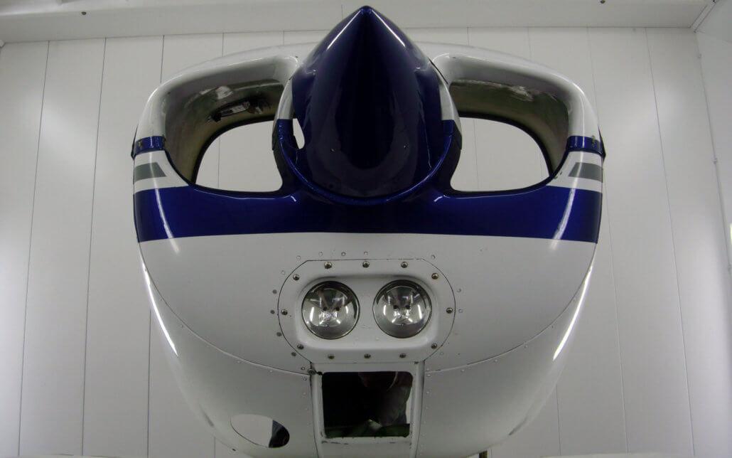 Réparation pièce avion